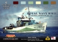 Kit aerografo di colori camouflage LifeColor CS34 ROYAL NAVY WWII